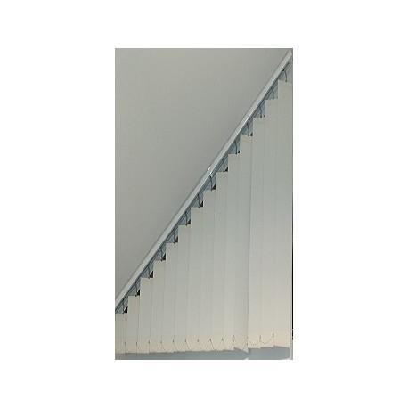 Store californien trapèze sur mesure store a bandes verticales