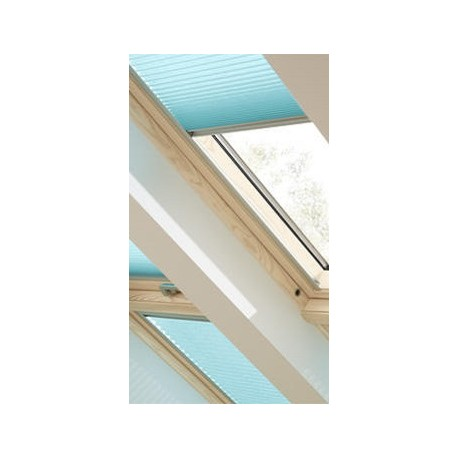 Store plissé fenêtre de toit