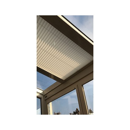 Store plissé plafond