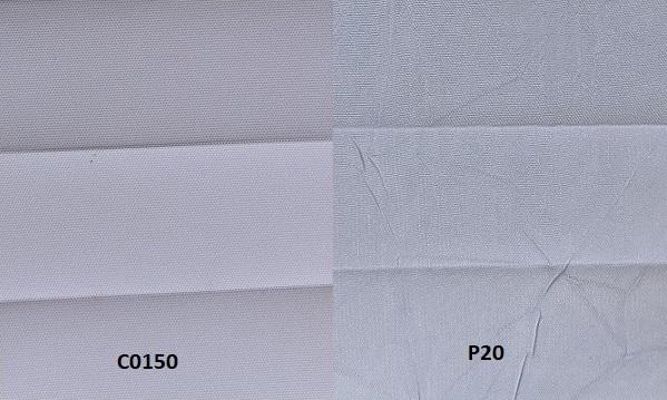 stores plissés sur mesure sur eco-stores : comparer les gammes SERIE C et SERIE P