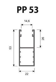 Volet Roulant Sur Mesure - Coulisses 53 mm PP53 (39 mm - 45 mm)
