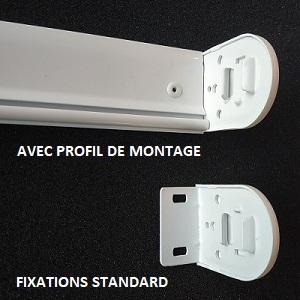 bulles daide/ECO-STORES - FIXATIONS STANDARD - PROFIL DE MONTAGE