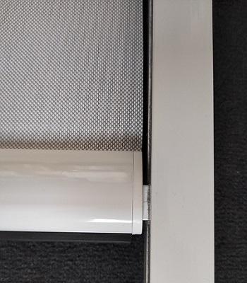 ECO-STORES - store extérieur enrouleur refleksole sur mesure - coulisses standard