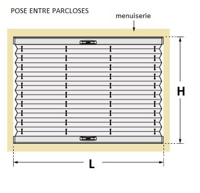 les daide/eco-stores_plisses_prise_mesure_pose_entre_parclose