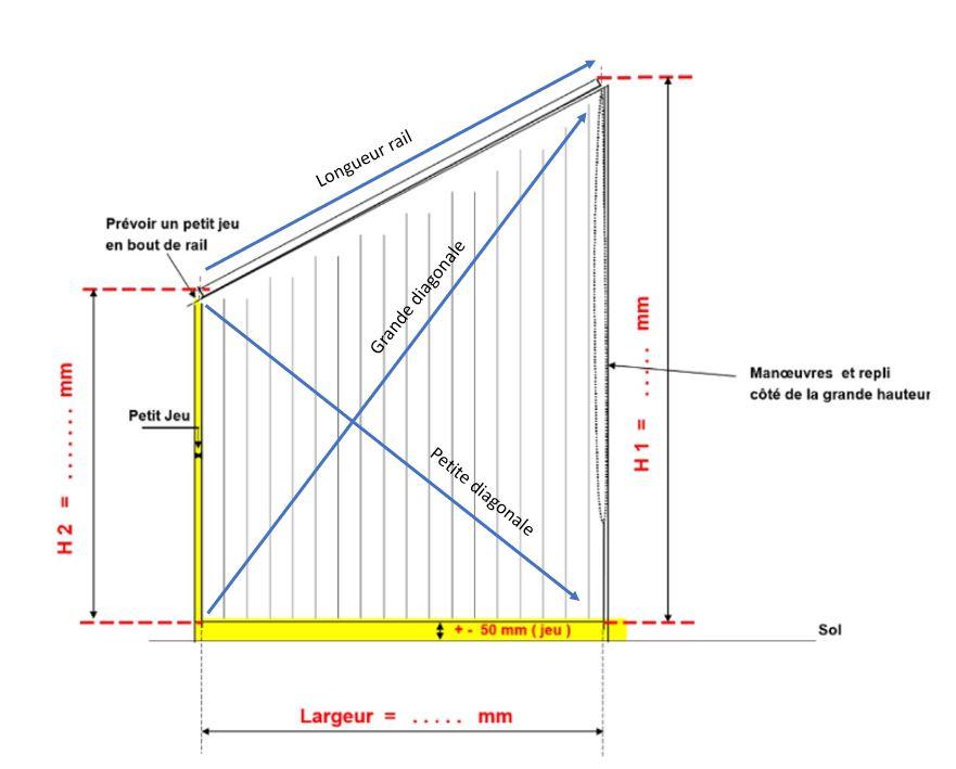 aide stores trapeze sur mesure et prise de mesure ecostores